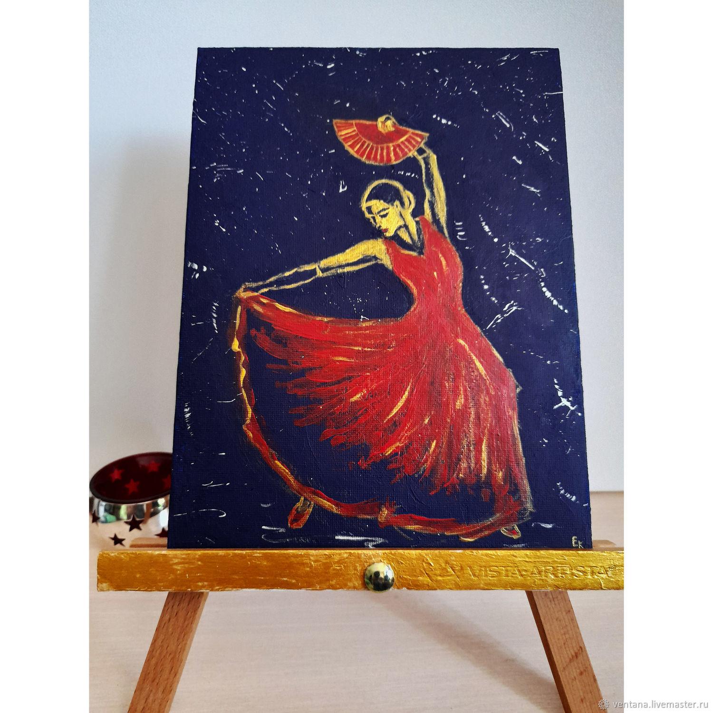 Картина Фламенко, Картины, Уфа,  Фото №1