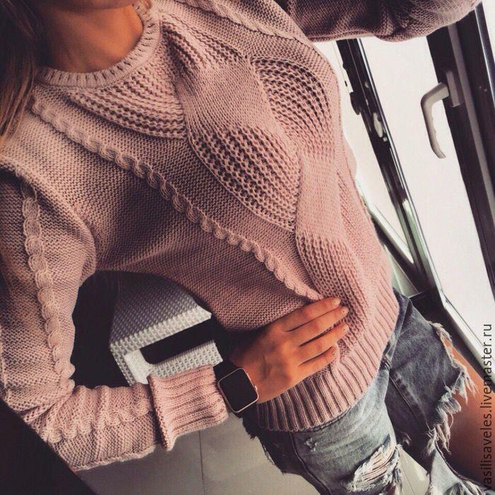 Купить вязаный свитер своими руками