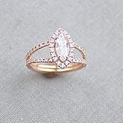Украшения handmade. Livemaster - original item Copy of Copy of Copy of Ring with Diamonds. Handmade.