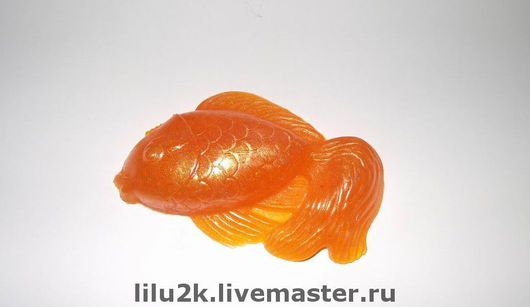 """Мыло ручной работы. Ярмарка Мастеров - ручная работа. Купить Мыло """"Золотая рыбка"""". Handmade. Мыло ручной работы"""