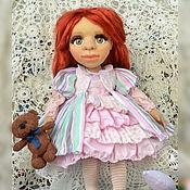 Куклы и игрушки handmade. Livemaster - original item Doll textile Zlata. Handmade.