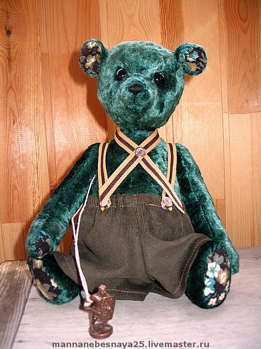 """Мишки Тедди ручной работы. Ярмарка Мастеров - ручная работа. Купить Мишка-тедди """"Гринни-the-Пух"""". Handmade."""
