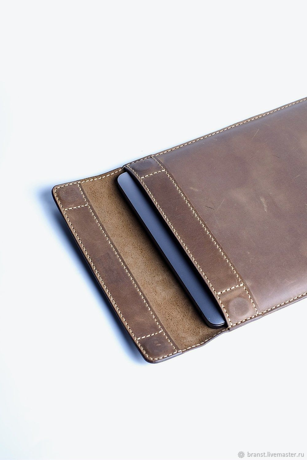 Kuga leather case with flap for laptop, Case, Makhachkala,  Фото №1