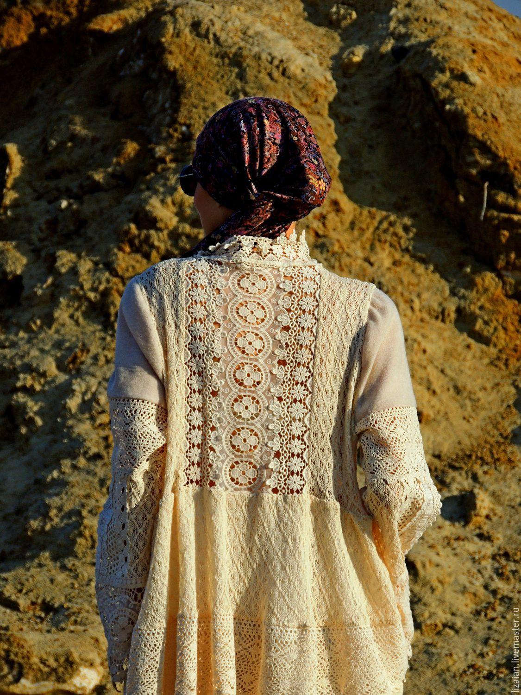 04e7feafb37 Платье в стиле БОХО. Лен и хлопок (№9) – купить в интернет-магазине ...