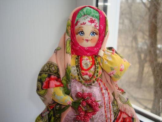 Народные куклы ручной работы. Ярмарка Мастеров - ручная работа. Купить Кукла в русском стиле Степанида. Handmade. Желтый