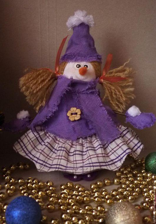 Новый год 2017 ручной работы. Ярмарка Мастеров - ручная работа. Купить Снеговик-девочка. Handmade. Комбинированный, снеговик в подарок, снеговики