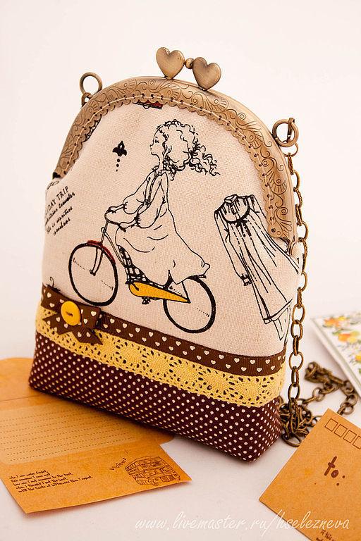 """Женские сумки ручной работы. Ярмарка Мастеров - ручная работа. Купить Детская сумочка """" BON VOYAGE """". Handmade."""