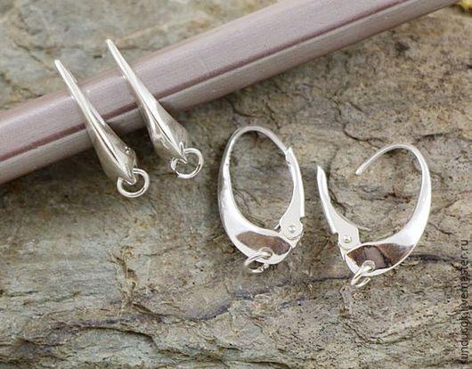 Для украшений ручной работы. Ярмарка Мастеров - ручная работа. Купить 600С Швензы из серебра 925 пробы закрывающиеся. Handmade.