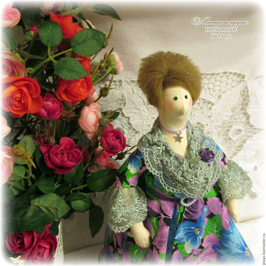 Куклы Тильды ручной работы. Ярмарка Мастеров - ручная работа. Купить Кукла Тильда толстушка для Ларисы. Handmade. Кукла
