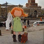 Куклы и игрушки ручной работы. Ярмарка Мастеров - ручная работа Девочка Глаша. Handmade.