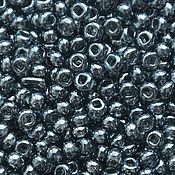 Материалы для творчества handmade. Livemaster - original item 10 grams of 10/0 seed Beads, Czech Preciosa 46010 Premium grey.. Handmade.