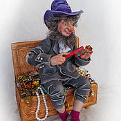 Мягкие игрушки ручной работы. Ярмарка Мастеров - ручная работа Богатство гнома. Handmade.
