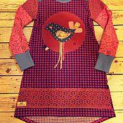 """Одежда ручной работы. Ярмарка Мастеров - ручная работа Платье """"Птичка моя"""". Handmade."""