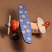 Куклы и игрушки ручной работы. Ярмарка Мастеров - ручная работа Самолетик из Ромашково. Handmade.