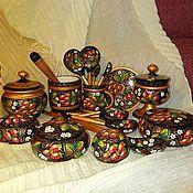 Посуда handmade. Livemaster - original item cookware set strawberry jam. Handmade.