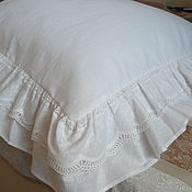 Для дома и интерьера handmade. Livemaster - original item Pillow case linen