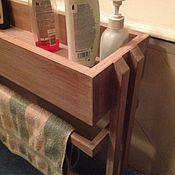 Для дома и интерьера handmade. Livemaster - original item Rack - rack for bathroom solid wood. Handmade.