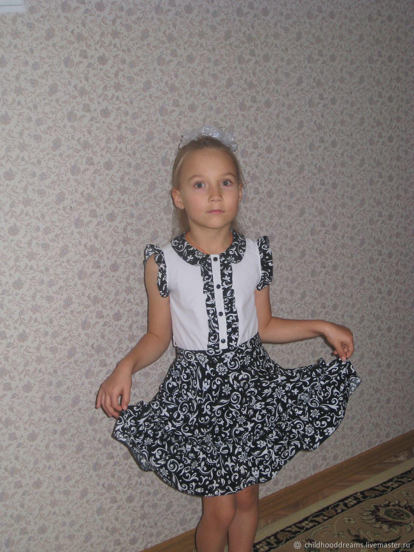 """Детское платье """"Забавные узоры"""""""