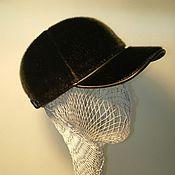 Бейсболки ручной работы. Ярмарка Мастеров - ручная работа Бейсболка из меха нерпы. Handmade.