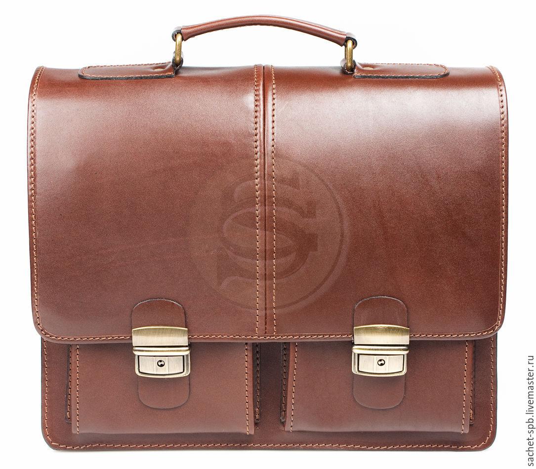 2290fae1dcd9 Мужские сумки ручной работы. Ярмарка Мастеров - ручная работа. Купить  Кожаный портфель