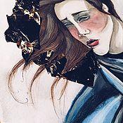 Картины и панно ручной работы. Ярмарка Мастеров - ручная работа She will be loved. Handmade.