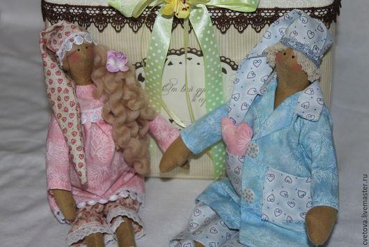 Куклы Тильды ручной работы. Ярмарка Мастеров - ручная работа. Купить Сплюшки В ожидании чуда. Handmade. Тильда ангел