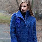 """Одежда ручной работы. Ярмарка Мастеров - ручная работа Пальто """"Оltremare"""". Handmade."""