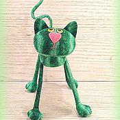 Куклы и игрушки ручной работы. Ярмарка Мастеров - ручная работа Арбузный кот :))). Handmade.