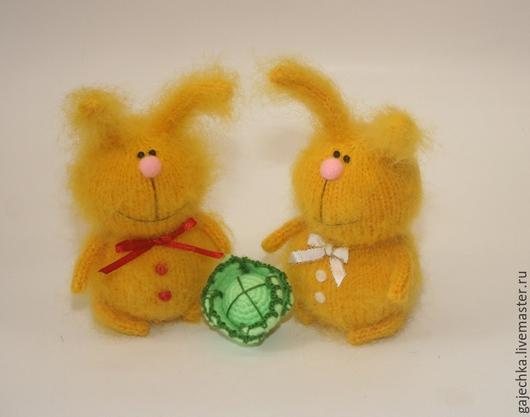 Игрушки животные, ручной работы. Ярмарка Мастеров - ручная работа. Купить Солнечный зайчик. Handmade. Желтый, зайчик, крольчиха, ЗАЙ