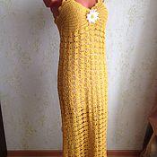 Одежда ручной работы. Ярмарка Мастеров - ручная работа Платье вечерние Веер. Handmade.