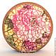"""Шкатулки ручной работы. Ярмарка Мастеров - ручная работа. Купить Шкатулка """"Цветочная мозаика"""". Handmade. Разноцветный, подарок подруге"""