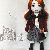 Куклы и игрушки ручной работы. Ярмарка Мастеров - ручная работа Кукла Алина. Handmade.