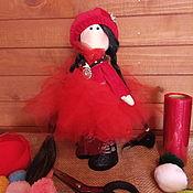 Тыквоголовка ручной работы. Ярмарка Мастеров - ручная работа Кукла Эльвира. Handmade.