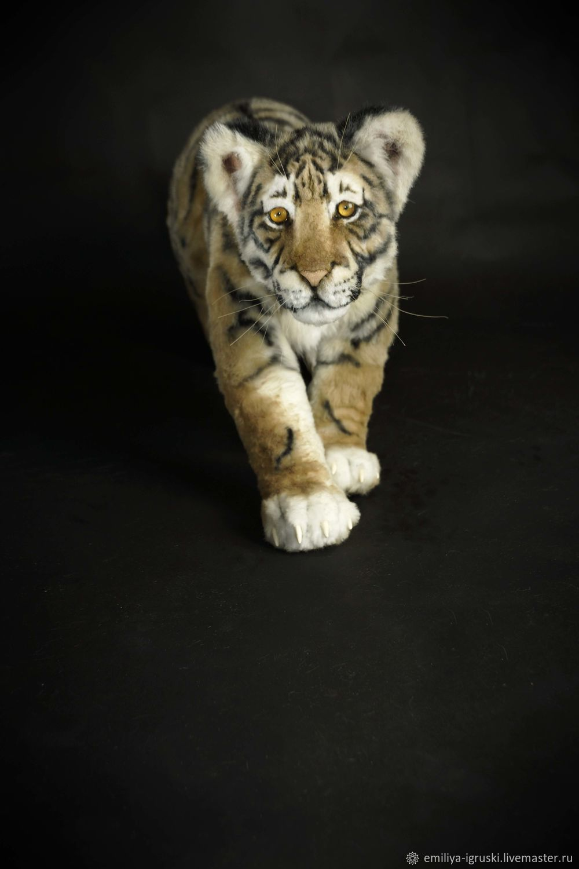 Tiger. Realistic toy, Stuffed Toys, Tyumen,  Фото №1