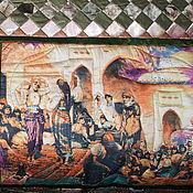 Для дома и интерьера ручной работы. Ярмарка Мастеров - ручная работа Покрывало  Персидские мотивы. Handmade.