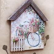 "Ключницы ручной работы. Ярмарка Мастеров - ручная работа Ключница ""Velo en Provence"". Handmade."