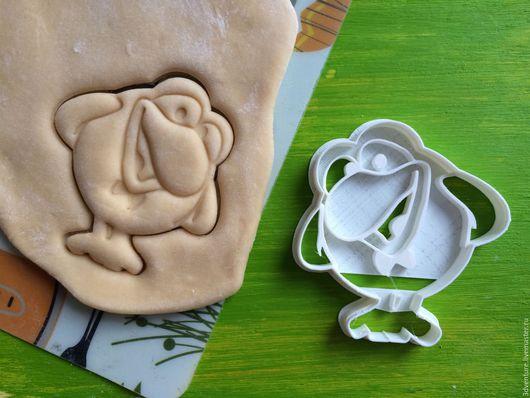 Кухня ручной работы. Ярмарка Мастеров - ручная работа. Купить Форма для печенья Смешарики Карыч. Handmade. Разноцветный, формочка для печенья