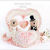 Свадебный салон ручной работы. Ярмарка Мастеров - ручная работа Свадебная композиция. Handmade.