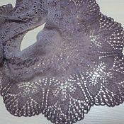Шали ручной работы. Ярмарка Мастеров - ручная работа Маленькая шаль из мохера. Handmade.