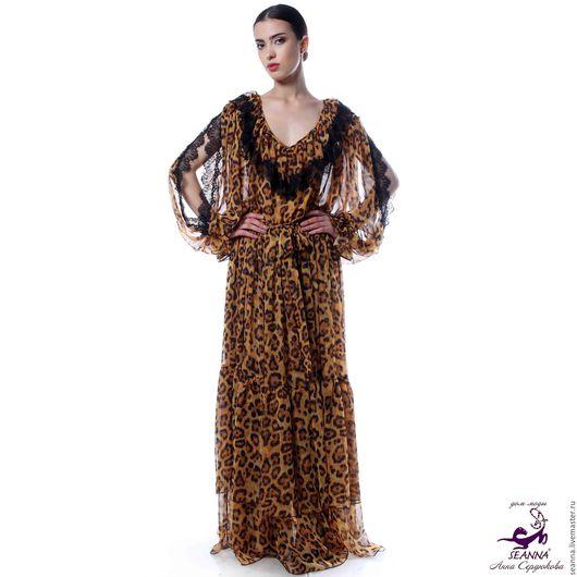 Платья ручной работы. Ярмарка Мастеров - ручная работа. Купить Платье воздушное роскошное и очень удобное, сразу на 3 размера+пояс. Handmade.