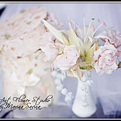 "Цветы и флористика handmade. Livemaster - original item Bouquet ""Bride"" - interior composition, bouquet of the bride. Handmade."