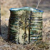 Для дома и интерьера handmade. Livemaster - original item Ceramic vase