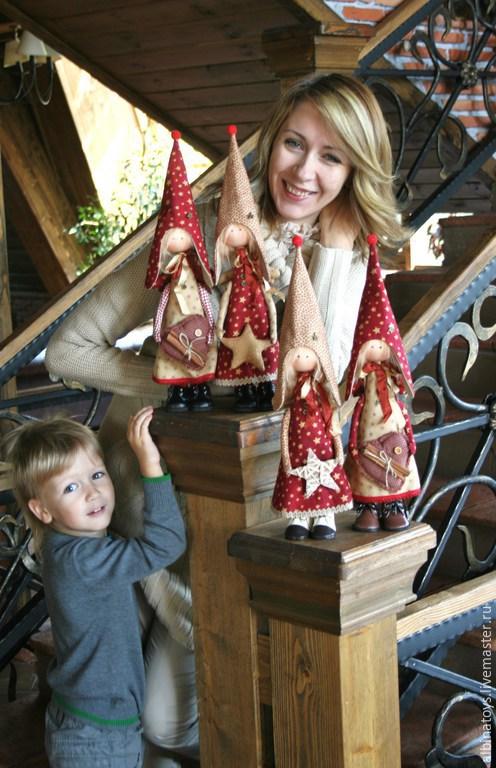 Ангел текстильная кукла мастер класс