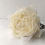 Украшения handmade. Livemaster - original item Bracelet with flower made of fabric. Vintage rose.. Handmade.