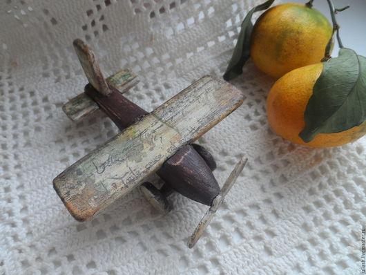 """Техника ручной работы. Ярмарка Мастеров - ручная работа. Купить Самолетик """"Из детства-м"""" 2 вида. Handmade. Самолет"""