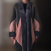Винтаж ручной работы. Ярмарка Мастеров - ручная работа дубленка женская (Франция,винтаж). Handmade.