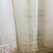 Для дома и интерьера handmade. Livemaster - original item Tulle linen