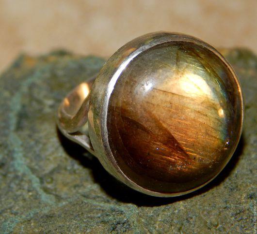 Кольца ручной работы. Ярмарка Мастеров - ручная работа. Купить кольцо с лабрадором. Handmade. Комбинированный, лабрадорит натуральный