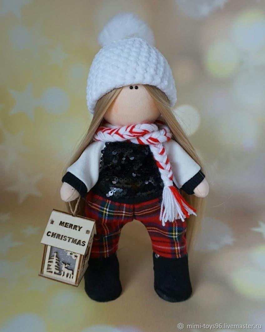 Новогодняя куколка с домиком, Куклы, Верхняя Пышма, Фото №1
