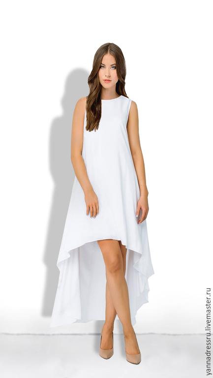 """Платья ручной работы. Ярмарка Мастеров - ручная работа. Купить Платье """"Рure Сotton Dress"""". Handmade. Белый, платье летнее"""
